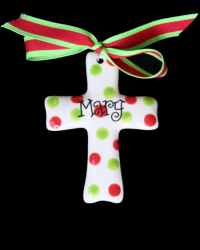 Pitter Platters Puffy Cross
