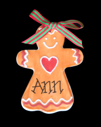 Pitter Platters Flat Gingerbread Girl