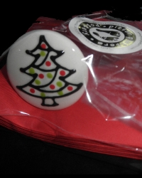 Pitter Platters Wine Topper Christmas Tree