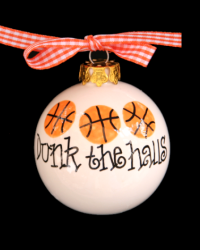Pitter Platters Sports Ball Dunk the Halls Basketball